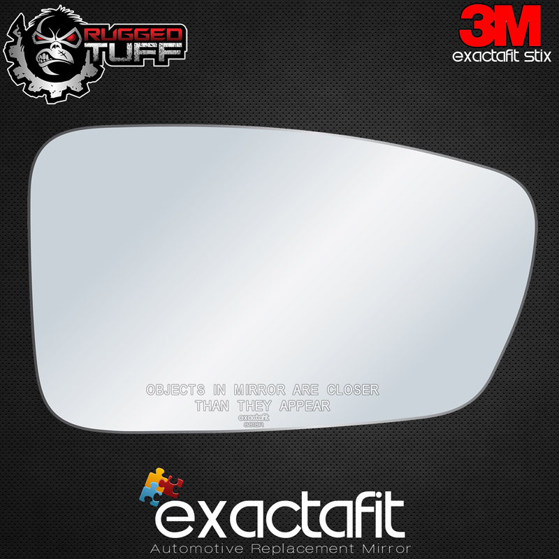 Driver Side For Hyundai Sonata 11-14 Brand New Replacement Door Mirror Glass